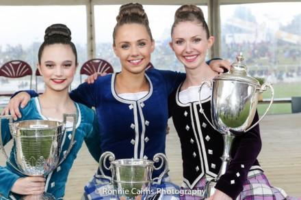 2014 World Champions (Erin Blair-USA, Abbie MacNeil-Scotland, Marielle Lesperance-Canada)