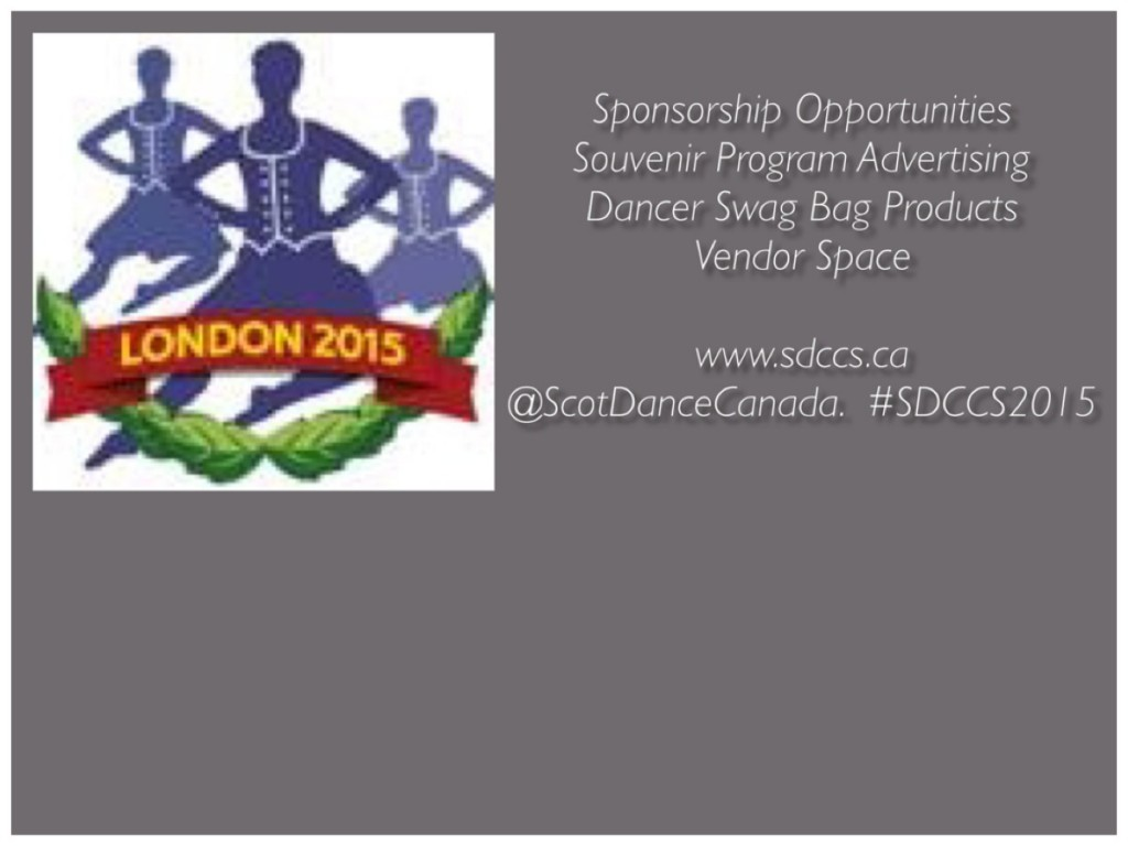 SDCCS 2015 Sponsorship