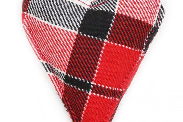 Heart Brooch - ScotDance Canada Tartan
